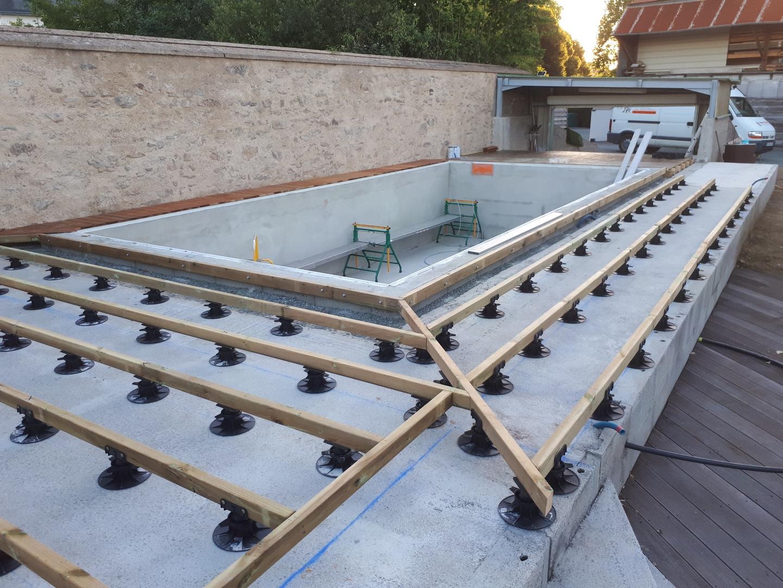 pose terrasse piscine
